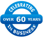Celebrating over 60 years in business